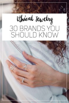 Ethical Jewelry - why you should care to shop for fair trade jewelry and 30 ethical brands you should know! Ethical Jewellery!
