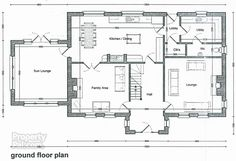 This 4 Bed Detached House For Sale Is Located At New Build At Milltown Road, Portglenone. Dream House Plans, House Floor Plans, Self Build Houses, Ireland Homes, Georgian Homes, New Builds, Detached House, Future House, Building A House