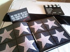 Old Hollywood Themed Guestbook by PerfectPairWeddings on Etsy