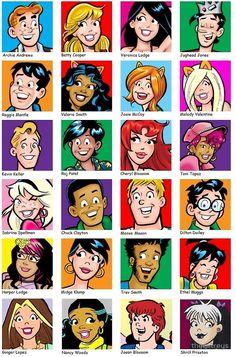 Résultats de recherche d'images pour « archie comics »