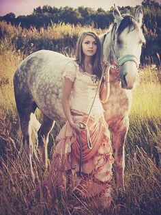 Like the skirt. And the horse, obviously.