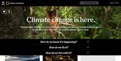 The Climate Change Issue | The Webby Awards