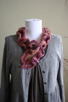 Ravelry: DanDoh Scarf ~ Knitted Hug for Japan pattern by Yumiko Alexander