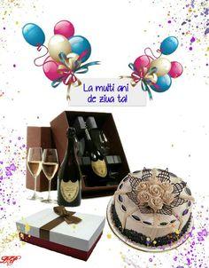 Happy Birthday, Birthday Cake, New Years Eve Party, Champagne, Cats, Happy Aniversary, Gatos, Happy B Day, Birthday Cakes