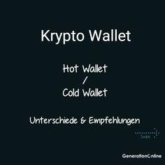 Du interessierst dich für Kryptos und fragst dich was die beste Aufbewahrungsmethode ist? Du willst den Unterschied zwischen einem sogenannten Hot Wallet und einem Cold Wallet Wissen? Dann jetzt den neusten Blogbeitrag lesen! --- #bitcoin #bitcoinnews #generationonline #hotwallet #metamask #ledger #coldwallet #hardwarewallet #ledgernanox #ledgernanos #krypto #kryptowährung #blockchain #technologienews #crypto #ethereum #btc #kryptosaufbewahren #kryptowallet #wallet Blockchain, Hot, Instagram, Not Interested, Knowledge, Benefits Of