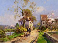Edouard Leon #Cortés - Printemps en Normandie -#pintura #art #artwit #fineart #twitart #iloveart #followart #painting pic.twitter.com/NrYOlzqFP4