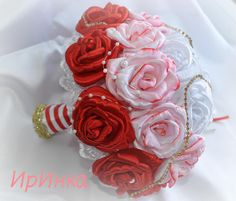 Одноклассники Bling Bouquet, Diy Bouquet, Bouquets, Rose, Flowers, Accessories, Decor, Pearl Bouquet, Wedding Bride