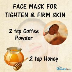 Face mask to tighten & firm skin Natural Skin Tightening, Skin Tightening Cream, Skin Firming, Skin Brightening, Face Tightening, Homemade Skin Care, Homemade Beauty, Healthy Skin, Skin Care Tips