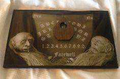 Ouija Board / Spirit Board / Ghost Board by GRavenNY on Etsy, $75.00
