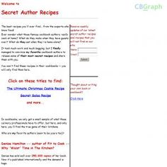 Secret Recipes Of Famed Cookbook Authors. See more! : http://get-now.natantoday.com/lp.php?target=salsa