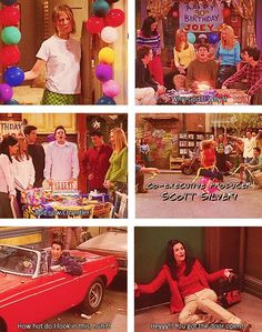 The one where they all turn 30 #friends