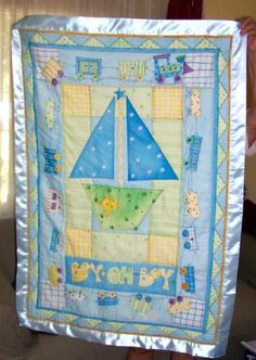 Pictures of Baby Quilts for Boys: Ashton's Baby Quilt