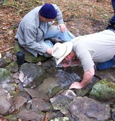 """Finding Water: How to Dig a Seep """"When working to obtain water in a wilderness setting one must always question the purity of the source, particularly with any surface water. Water Collection System, Primitive Survival, Water Tap, Spring Water, Water Purification, One Time, Camping Survival, Workshop, This Or That Questions"""