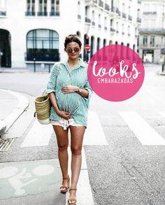 4219eb629 85 imágenes geniales de ropa para embarazadas jovenes