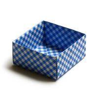 Einfache Origami Schachtel