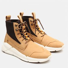 Shop Urban Move Chukka for Men in Yellow today at Timberland. The official Timberland online store. Timberland Chukka, Timberland Store, Rose Vans, How To Clean Suede, Best Sneakers, Sneaker Boots, New Man, Shoe Game, Leather Working