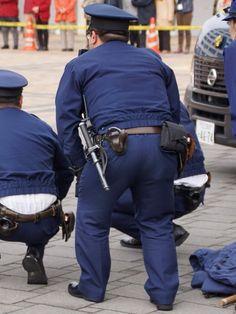 Men In Uniform, Big Men, Asian Men, Cops, Police, Formal, Fashion, Preppy, Moda