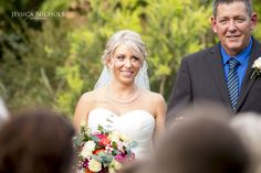 Wedding photography / Brides first look / Seeing groom for first time / Walking down the isle / Bride / Ceremony photography