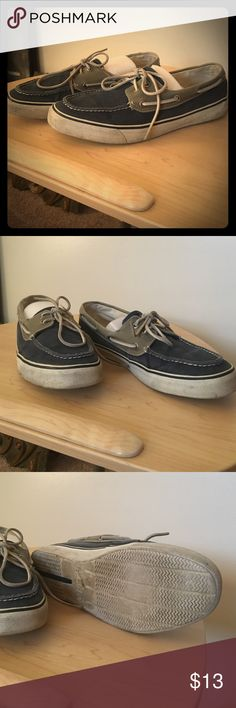 Men's speedy top sider boat shoes. Size 11M 11 M boat shoes. They have been worn but still have life left. Very comfortable well made shoe. Sperry Top-Sider Shoes Flats & Loafers