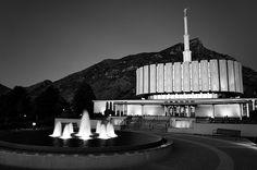 Provo LDS Temple - http://www.ldsfavorites.net/provo-lds-temple/  #LDSgems #lds #mormon #LDStemples