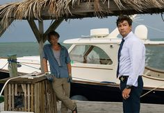 Bloodline (Netflix, begins streaming March 20). Prepare to get hooked by Bloodline, where the buried secrets of a tight-knit family float to the surface of the Florida Everglades when the troublemaking oldest son returns to town. With Sissy Spacek, Sam Shepard, Ben Mendelsohn (left) and Kyle Chandler (right).