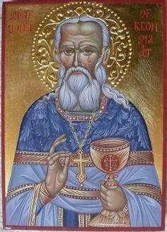 John of Kronstadt, hand painted orthodox icon created by Bulgarian artist Georgi Chimev. Religious Icons, Religious Art, Religion, Paint Icon, Women Lawyer, Orthodox Christianity, Orthodox Icons, Old World, Saints