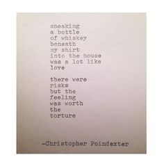 The Blooming of Madness poem #187 written by Christopher Poindexter