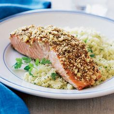 Crusted Salmon Bites | Almond Joys | Pinterest | Crusted Salmon ...