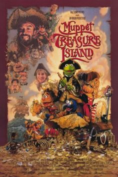 "All time fave Muppet Movie... ""Muppet Treasure Island"" was legitimately my first words. No joke."