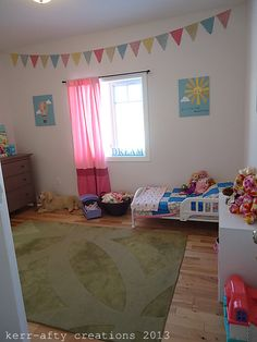 Kerr-afty Creations: Girls Toddler room