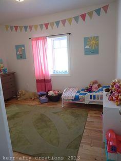 Kerr-afty Creations: Girls Toddler room @Noel Marie Rose