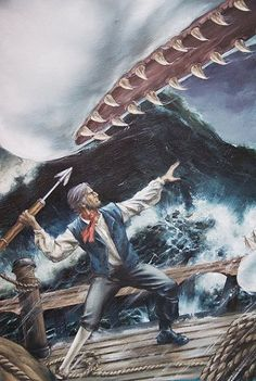 John Watson Art - Marvel Illustrated - Moby Dick # 1 Cover