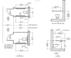 toilet regulations measurements Google Search