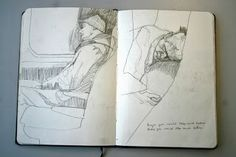 newspaper drawings.