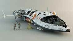 Spaceship soldiers by leccotamura.deviantart.com on @deviantART