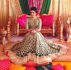 Decor by Moonlight Decor Makeup and hair by Pink Orchid Studio Indian Bridal Wear, Asian Bridal, Pakistani Bridal, Pakistani Mehndi, Indian Wear, Bride Indian, Bridal Lehenga, Pakistani Outfits, Indian Outfits