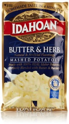 Idahoan Mashed Potatoes, Butter & Herb, 4 Oz Idahoan,http://www.amazon.com/dp/B000RPUCOM/ref=cm_sw_r_pi_dp_Q.3Htb1SYD62M3A5