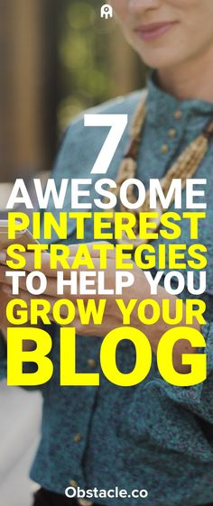 These 7 Pinterest strategies will help you grow traffic to your blog, build your mailing list, and increase revenue allowing you to work at home while you make money blogging.