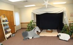 nativity costumes and set- ideas for making the set.