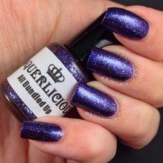 """Polished And Shined: Laquerlicious """"All Bundled Up"""", indie nail polish, winter nail polish"""
