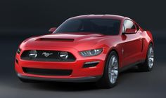 Early Sketches of 2015 Ford Mustang Revealed