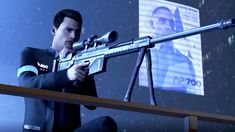 DETROIT: BECOME HUMAN - TV Commercial  Connor (PS4)
