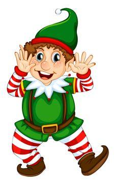 Transparent Christmas Elf