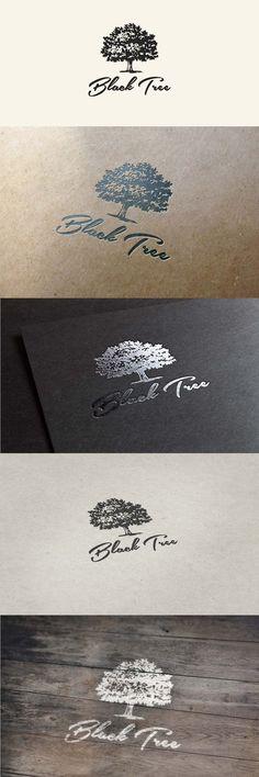 Black Tree - #Logo #Design #Branding #Identity