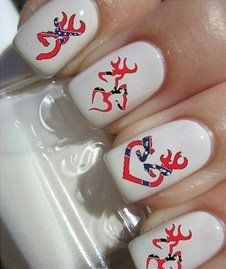Browning Nails with rebel flag wow!!!!