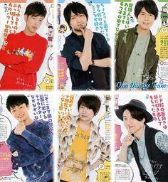 Sakurai Takahiro and Fukuyama Jun 🌼💖# Osomatsu San Cast 💖 Miyu Irino, Takahiro Sakurai, Hiroshi Kamiya, Osomatsu San Doujinshi, Comedy Anime, Cute Art Styles, Ichimatsu, Anime Japan, Hot Anime Guys
