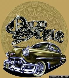 Old Style Lowrider Style Arte Chicano Drawings, Chicano Art, Car Drawings, Arte Cholo, Cholo Art, Arte Lowrider, Cholo Style, Rockabilly, Brown Pride