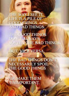 Good things and bad things
