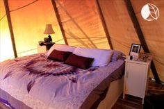 Tipi Glamping on Manitoulin Island—World's Largest Freshwater Island Ontario Camping, Manitoulin Island, Romantic Weekend Getaways, Go Glamping, Lake Huron, Romantic Things, Luxury Camping, Vacation Spots, State Parks