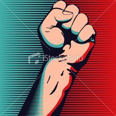 Fist Royalty Free Stock Vector Art Illustration